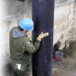 Steel Riser Pipe Repair and Strengthening