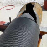 A gas pipe wrapped with HJ3's CarbonSeal system withstood a 5200 PSI blast test