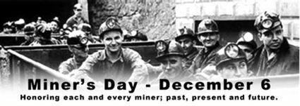 miners day banner