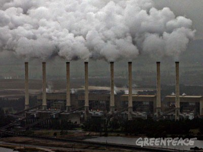 "The Hazlewood power plant is 40 years old and regarded by some as ""the industrialized world's most greenhouse-polluting power plant"" Photo Credit: Greenpeace.org"