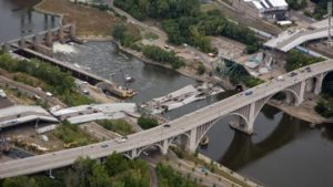 The proposed budget includes funds to repair degraded bridges to help ensure that collapses like this one don't happen. Photo Credit: CNN