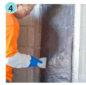 carbon fiber wall repair kit
