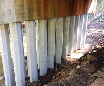 bridge installation  frp solution