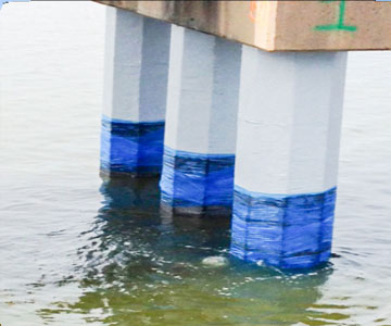 bridge piling solution