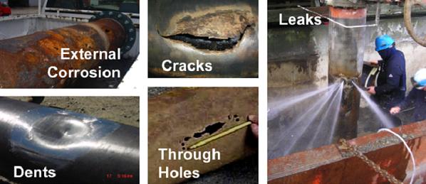 carbonseal system multiple pipe repair