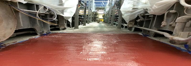 chlor alkai carbon seal coating solution
