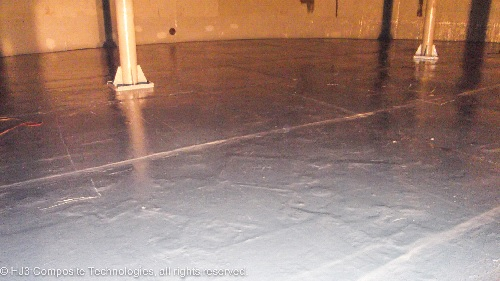 coal powerplant floor repair