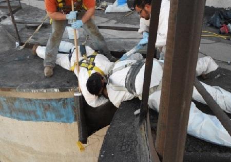repair silo cornice