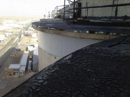 concrete silo cornice carbonseal