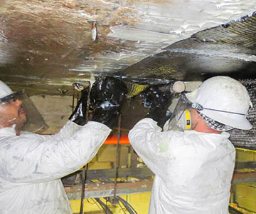 copper plant installation