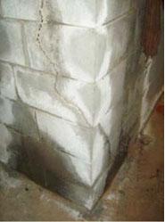 corner wall repairs