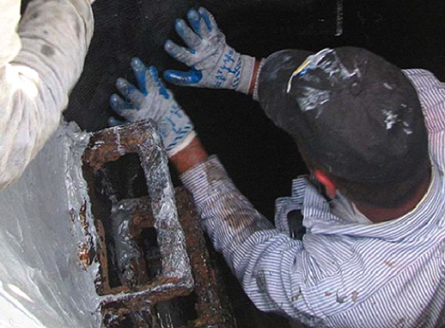 manhole repair