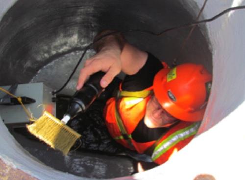 manhole carbonseal repair