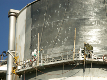 steel tank surface repair