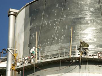 steel tank surface repair